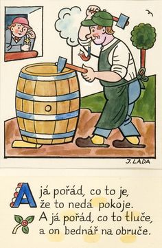Kalamajka – A já pořád, co to je, 1913 Fairy Tales, Literature, Arts And Crafts, Clip Art, Retro, Folklore, Drawings, Illustration, Artist