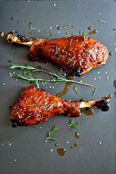 Pumpkin-Glazed Turkey Legs | 19 Great Ways To Cook Your Thanksgiving Turkey
