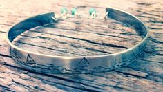 A personal favourite from my Etsy shop https://www.etsy.com/uk/listing/209350517/womens-sterling-silver-bangle-bracelet