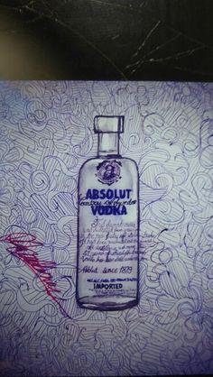 Absolutely vodka