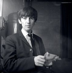 George Harrison in 1962 - By Astrid Kirchher