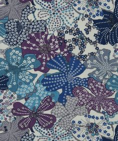 Liberty Art Fabrics Mauvey B Tana Lawn | Fabric by Liberty Art Fabrics | Liberty.co.uk