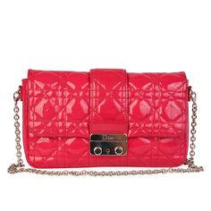 This elegant clutch can be enjoyed from the morning, right through to the evening, complementing any type of style. Christian Dior, Mean Girls, Types Of Fashion Styles, Pretty In Pink, Patent Leather, Dust Bag, Take That, Pouch
