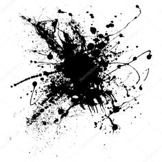 Illustration about Random illustrated ink splat in black and white. Illustration of fluid, splat, illustration - 6956828 Paint Splash Background, Black Colour Background, Light Background Images, Background Images Wallpapers, Wallpaper Backgrounds, Brown Tattoo Ink, Gold Tattoo, Overlays, Splatter Art