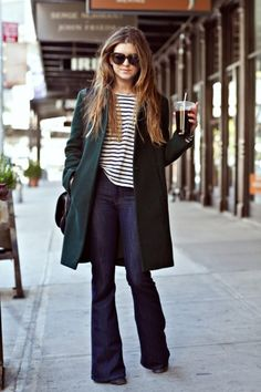 How to wear denim at work   theglitterguide.com