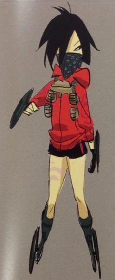 Gogo Tomago concept art by Shiyoon Kim, Jin Kim, Lorelay Bove, and Kevin Nelson (Art of Big Hero 6)