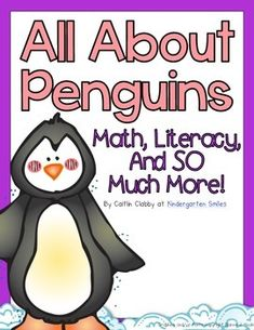 Penguin Unit Includes:-KWL cards for a whole group chart and student KWL activity sheets Describe It!-Penguins Can, Have, Are chart and two different activity sheets-My Book About Penguins mini book-Penguin vocabulary words Label it! All About Penguins, Penguins And Polar Bears, Winter Activities, Classroom Activities, Classroom Organization, Classroom Ideas, Penguin Day, Math Literacy, First Grade Math