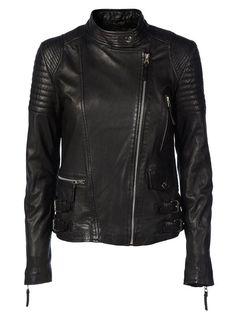 City biker leather jacket