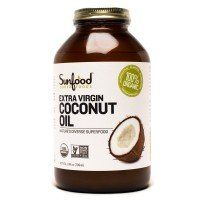 Sunfood: Coconut Oil 6/24 Oz Case (Organic)