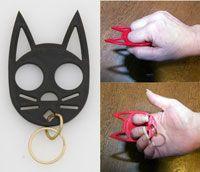Hello Kitty Keychain OR Serious Defense Weapon @Holly Miniea @Elaine Willis-Watson