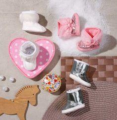 Сапожки зимние белые - Одежда и аксессуары - Куклы и аксессуары