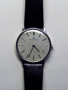 Wrist Watch 'Jaeger Lecoultre' ultra slim 60's