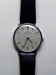 Wrist Watch 'Jaeger Lecoultre' ultra slim 60's