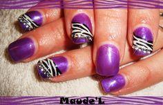 Zebra + Purple = Perfect!