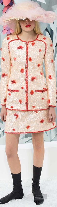 Chanel.Spring 2015 Couture.