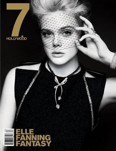 Elle Fanning - 7 Hollywood Magazine Winter 2013/2014 Covers