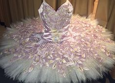 Lovely Lavender and Pale gold tutu from Reiko Yamamoto Ballet Costumes