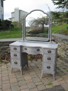 Dear Jesus, please help me find a suitable way to store the things that have been making a mess of my room this past year. If it's in the form of this cute vanity, I'll be glad to take it. :-)