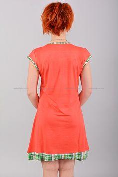 Домашнее платье В0079 Цена: 350 руб Симпатичное, домашнее платье выполнено из комфортного материала. Модель комфортного кроя, украшена контрастным принтом. Состав: 65 % хлопок, 35 % полиэстер. Размеры:XL,2XL,3XL  http://odezhda-m.ru/products/domashnee-plate-v0079  #одежда #женщинам #домашняяодежда #одеждамаркет