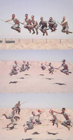 """""""Army Quidditch: even the military loves Harry! I'm not a Harry potter fan but this is awesome !!"""" How amazing is this?! :)"""