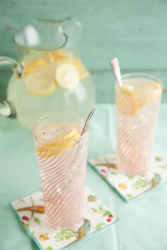 Paula Deen Lemonade - If you don't want to make this with sugar, then substitute with Truvia (stevia) all natural or Agave syrup.....DELICIOUS!! But read conversion charts on the substitutes-dont add 2 cups truvia-stevia it is alot sweeter than sugar etc.-vc