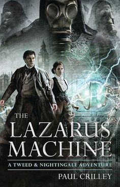 {Review} The Lazarus Machine by Paul Crilley | My first reaction after finishing this novel: WOW! Yeah, this story is mystery on the edge of science fiction and fantasy, totally worth a read!