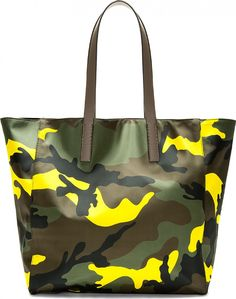 Graphic Summer Bags for the Stylish Man on the Go Valentino Camouflage Tote