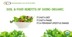 Enjoy the amazing benefits of going #organic. #organicsolutions