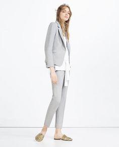 Image 1 of SHORT BLAZER from Zara