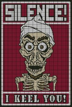 Achmed - I Keel You Crochet Pattern