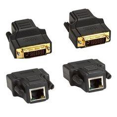 Black Box Network - AC1035A-R2 - Black Box DVI-D Digital Video Extender Kit - 1 Input Device - 1 Output Device - 130 ft