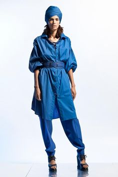 Jean Paul Gaultier's resort pre-spring 2013 collection has been previewed   http://mssikhret.com/ has each of the key looks for you.