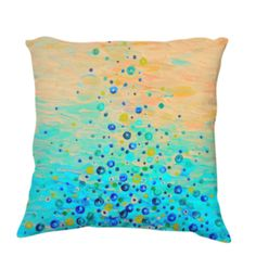 What Goes Up Pillow Cover 18x18 by Ebi Emporium