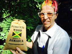 Just got pimento wood from Jamaica to start prepping for jerk chicken next week. Our regulars know and ask for it!! #oldschool