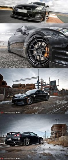 Nissan GT-R With Alloy Wheels ADV