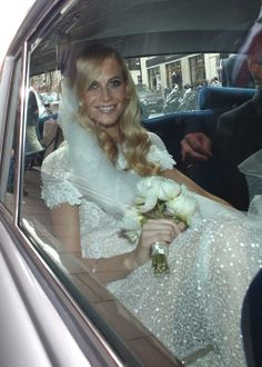 Poppy Delvingne's wedding