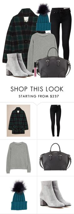"""""""teal"""" by needlework ❤ liked on Polyvore featuring rag & bone, The Elder Statesman, Alexander McQueen, Inverni, Gianvito Rossi and Le Métier de Beauté"""