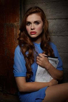Holland Roden! Love this color!