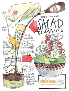 Make your own salad dressing! | Delicious Living