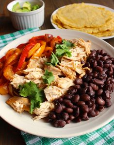 Rice Cooker Pineapple Chicken Fajitas | Frugal Nutrition #dinner #easy #ricecooker