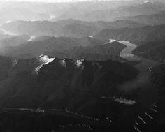 #mountains #river #flight #landscape #monochrome #blackandwhite #bw