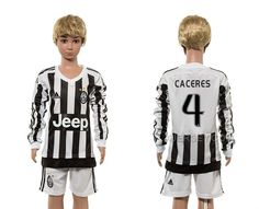 http://www.xjersey.com/201516-juventus-4-caceres-home-youth-long-sleeve-jersey.html 2015-16 JUVENTUS 4 CACERES HOME YOUTH LONG SLEEVE JERSEY Only 33.11€ , Free Shipping!