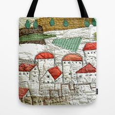 Medieval Town Tote Bag http://society6.com/product/medieval-town_bag#26=197