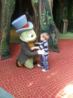 Jiminy Cricket at Animal Kingdom |
