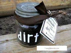 Older than Dirt | Celebrating a Milestone Birthday |simplykierste.com #gift