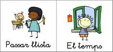 Resultado de imagen de encarregats de classe Valencia, Lesson Plans, How To Plan, Comics, Signs, Classroom Setup, Speech Language Therapy, Crafts For Kids, Preschool