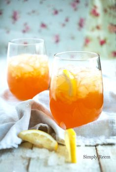 Iced Tea Lemonade (2 Tea bags (regular, any brand, non flavored). 3 cup Water 1/2 cup Lemon juice 1 cup Sugar )
