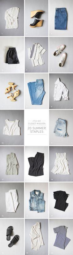 Summer Foundation Closet