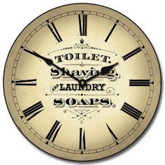 1000 images about bathroom clocks on pinterest for Bathroom clock ideas