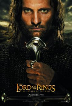 Viggo Mortensen as Aragorn in the Lord of the Rings trilogy. Yes, I really do think I have a type.